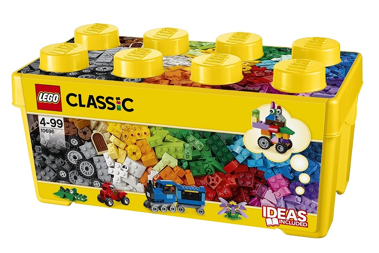 Đồ Chơi Lego Classic Medium Creative Brick Box 10696