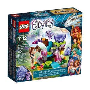 Đồ chơi Lego Elves Emily Jones & The Baby Wind Dragon 41171 - Emily Jones Và Tiểu Phong Long