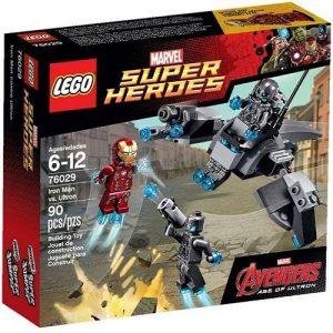Đồ Chơi Lego Super Heroes Super Heroes 76029 - Iron Man Đối Đầu Ultron