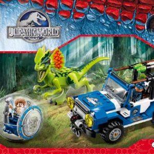 Đồ chơi Lego Jurassic World 75916 – Cuộc Phục Kích Khủng Long Hai Mào
