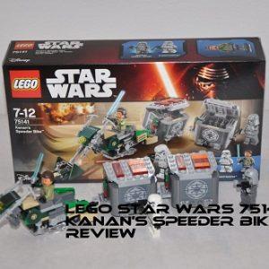Đồ chơi Lego Star War Kanan's Speeder Bike 75141 – Moto tốc độ của Kanan