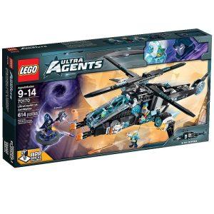 Đồ chơi Lego Ultra Agents 70170 mô hình Siêu Cảnh Sát Đối Đầu Phản Diện