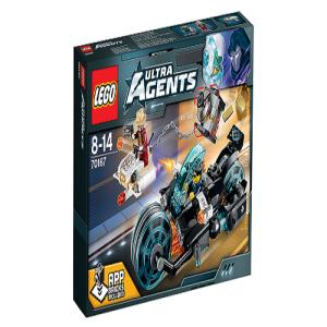 Đồ chơi xếp hình Lego Ultra Agents 70167- Cướp Vàng Tẩu Thoát