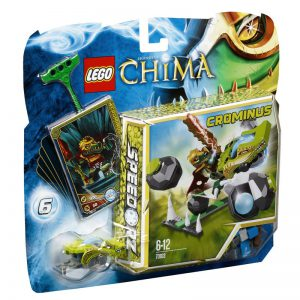 Đồ Chơi Lego Chima Boulder Bowling 70103