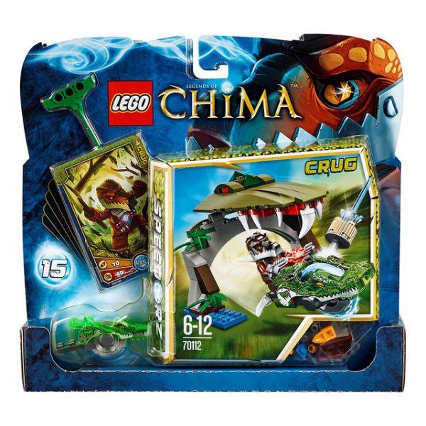 Đồ Chơi Lego Chima Croc Chomp 70112- Hầm cá sấu