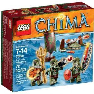 Đồ Chơi Lego Chima Crocodile Tribe Pack 70231– Bộ tộc cá sấu
