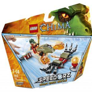 Đồ Chơi Lego Chima Flaming Claws 70150 - Móng Vuốt Rực Lửa
