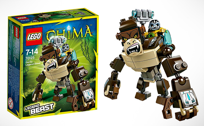 Đồ chơi Lego Chima Gorilla Legend Beast 70125 - Khỉ đột huyền thoại