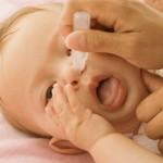 Trẻ 4 tháng tuổi bị sổ mũi