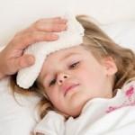 trẻ bị cảm cúm