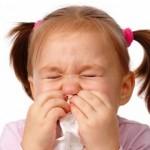 trẻ em bị sổ mũi