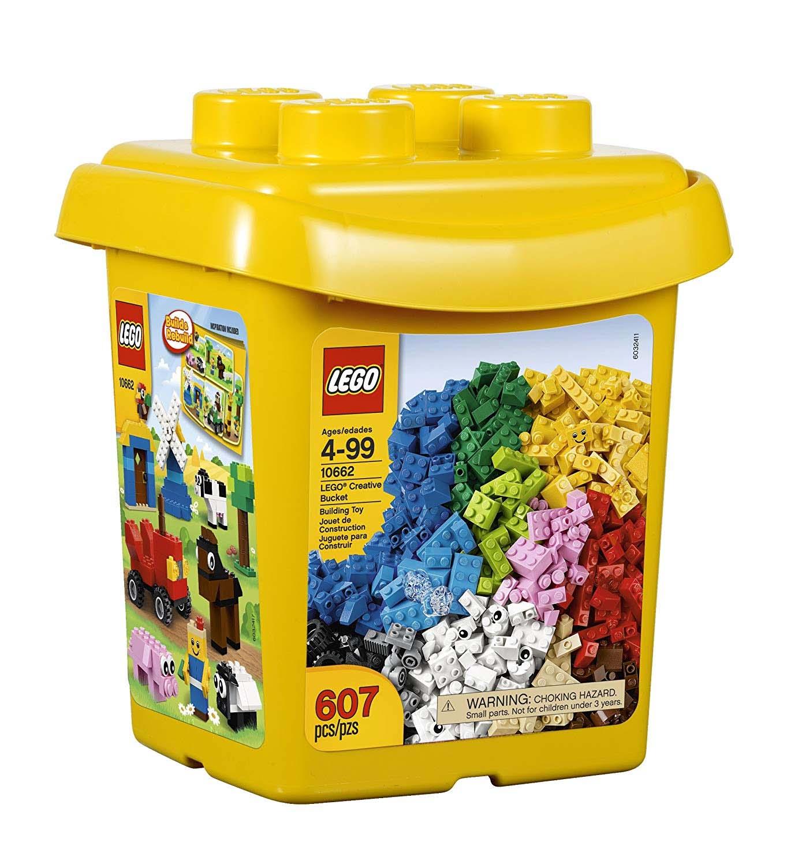 Đồ chơi Lego Brick &More LEGO® Creative Bucket 10662 – Thùng Gạch Sáng Tạo