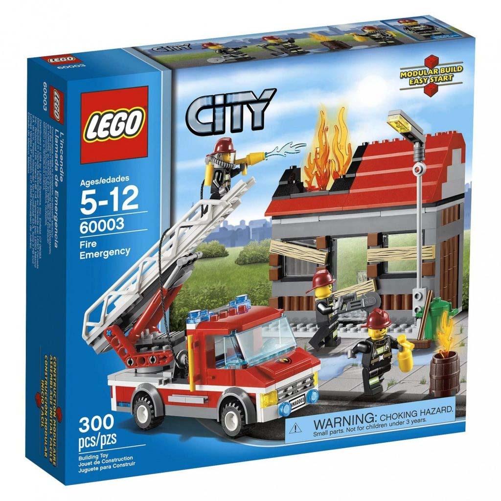 Đồ chơi Lego City Fire Emergency 60003- Xe cứu hỏa khẩn cấp
