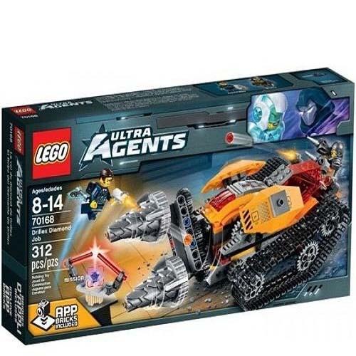 Đồ chơi Lego Ultra Agents 70168 – Máy khoan kim cương